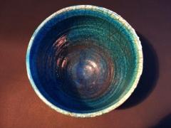 Raku bowl 21